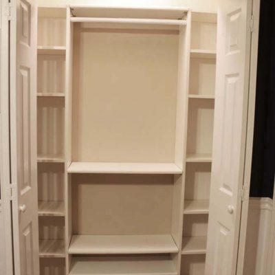 Our Under $100 Closet System – IKEA Hack