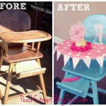 A Truly 'High' Chair ~ Fit for a Birthday Girl