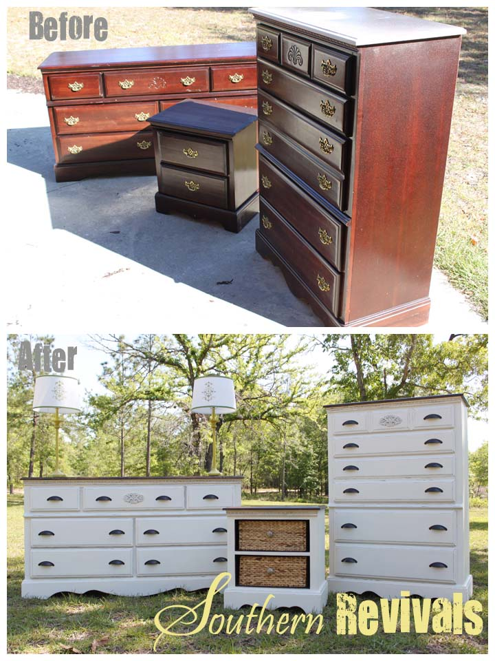 Southern Revivals| Answers to Your Questions: Uncle Joe's Dresser - An Antique Dresser Revival