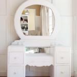A 1940s Vanity Dresser & Mirror Revival
