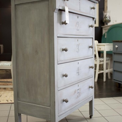 Typography Chest of Drawers An Anthropologie Inspired Revival