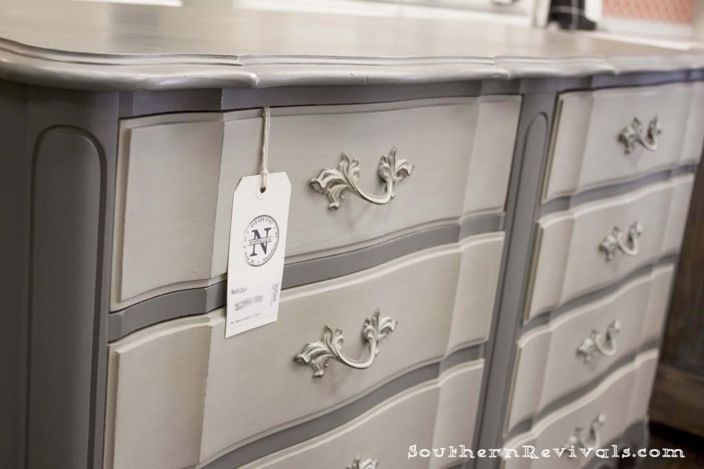 Diy Dresser Makeover Grey