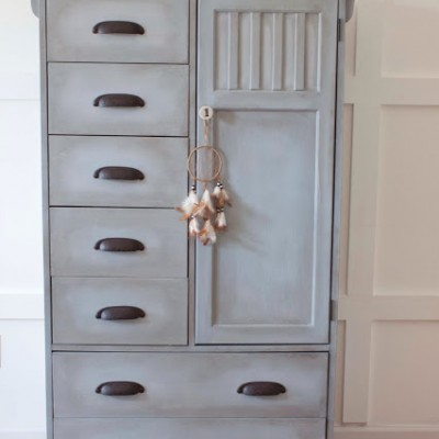 From Nursery to Big Boy Room | A Wardrobe Chest of Drawers Revival