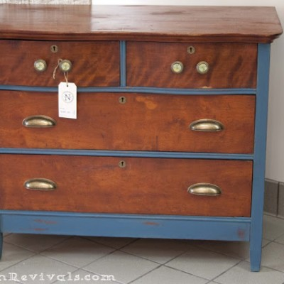 Maps | A Chest of Drawers Makeover