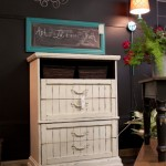 Cottage Style Chest of Drawers Makeover