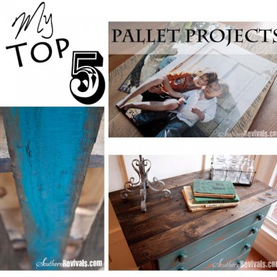 My Top 5 DIY Pallet Projects