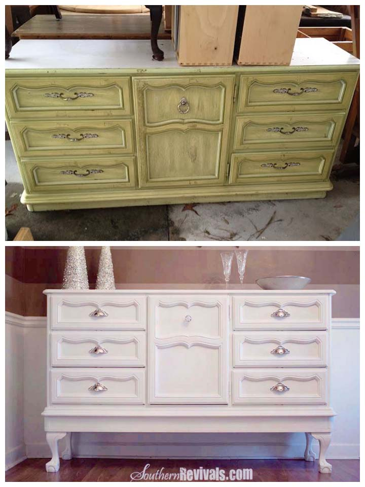 Spilling my secrets how i update vintage furniture for Modern bedroom with antique furniture