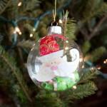 DIY Kleenex Pouch Santa Ornaments