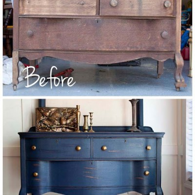 Uncle Joe's 1800's Dresser Makeover