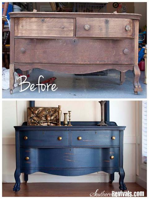 Uncle Joe's 1800's Dresser Makeover