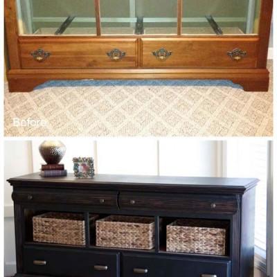 Pottery Barn Style Dresser Revival