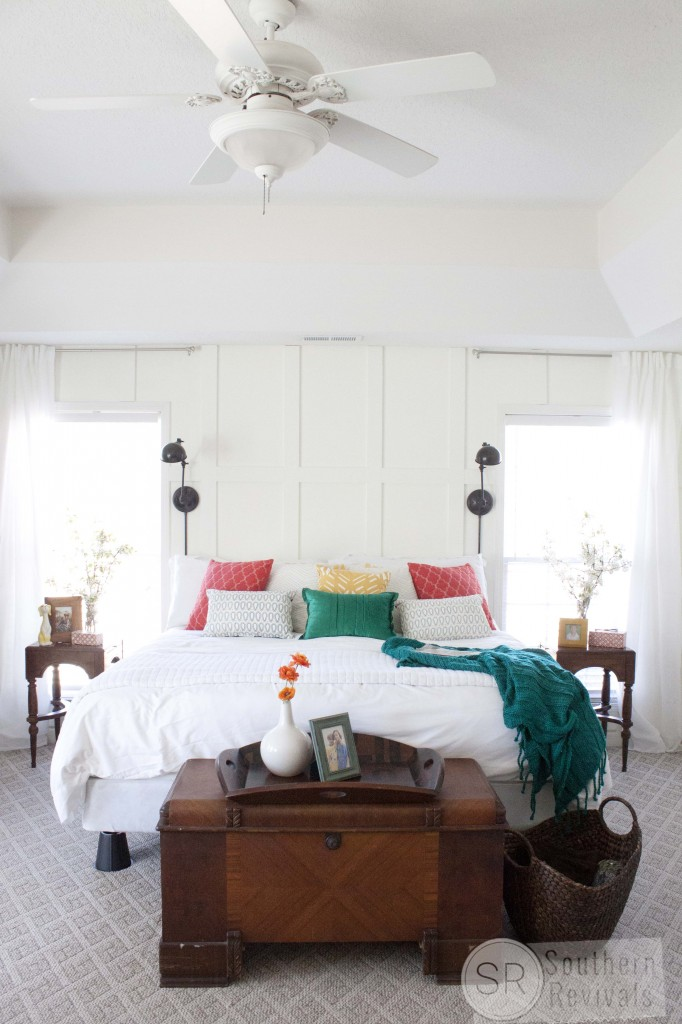 Master Bedroom Makeover After: Before And After: $500 Master Bedroom Makeover By Southern