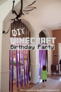 DIY Minecraft Birthday Party | How to Pull off an Awesome Party with Limited Resources