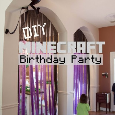 DIY Minecraft Birthday Party | How to Pull off an Awesome Party with Limited Resouces
