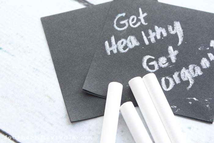 Creative Ways to Get Healthy & Organized