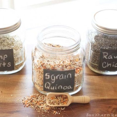 Creative Ways to Get Organized {& Healthy}