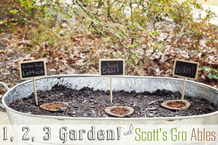 Southern Revivals | Growing a Garden in 3 Easy Steps with Scott's Gro Ables