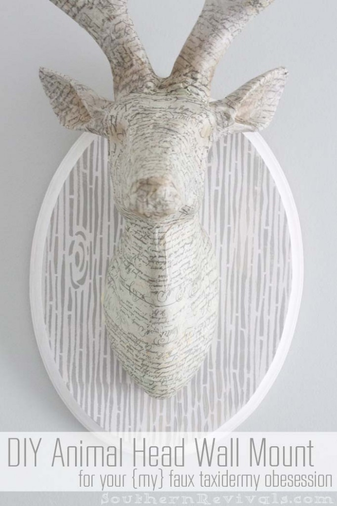Southern Revivals | DIY Animal Head Wall Mount