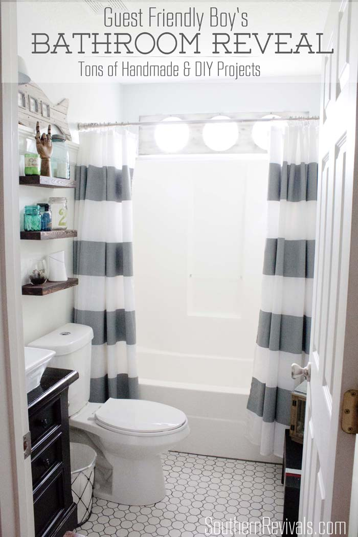 Southern Revivals Nautical Guest Friendly Boys Bathroom