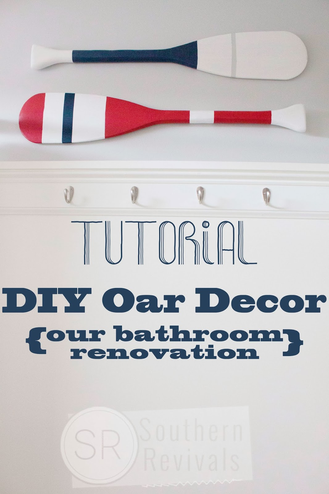 Southern Revivals Tutorial Diy Boat Oar Wall Décor With Cottonelle Toilet Paper And Cleansing