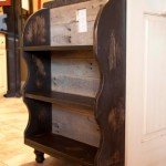 Custom Built Pallet Wood Bookshelf ~ Pottery Barn Style