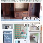 Where to Get the Look | Entertainment Center Play Kitchen