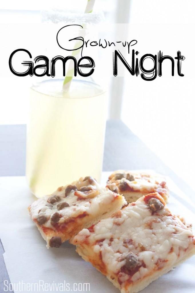 Grown-up Pizza & Game Night | Cajun Lemonade Recipe