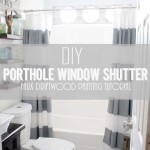 DIY Porthole Window Shutter Tutorial