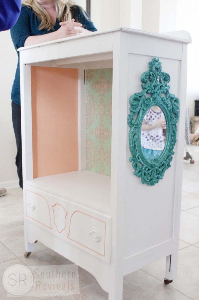Repurposed Chest of Drawers Becomes Play Wardrobe