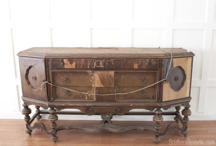 Vintage Sideboards And Buffets ~ What do i with you an antique sideboard buffet by
