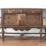 What do I do with you? An Antique Sideboard Buffet by Hellam Furniture Co.