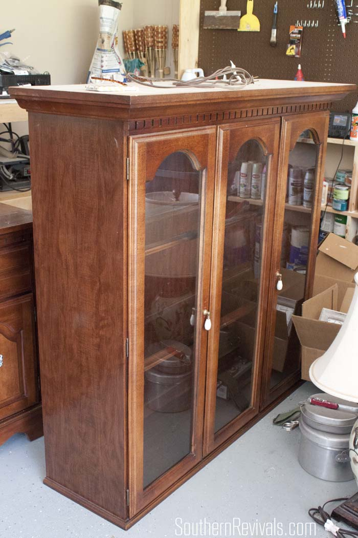 Client Files China Cabinet Makeover