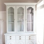 Client Files | An Outdated China Cabinet Gets A Makeover