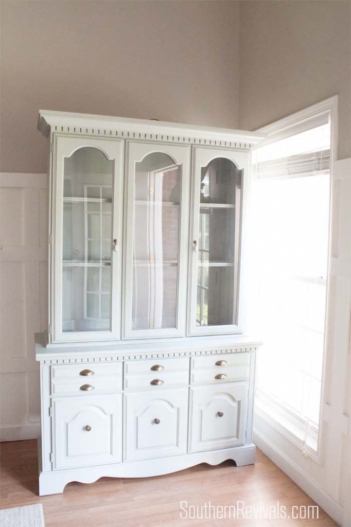 Client Files | China Cabinet Makeover