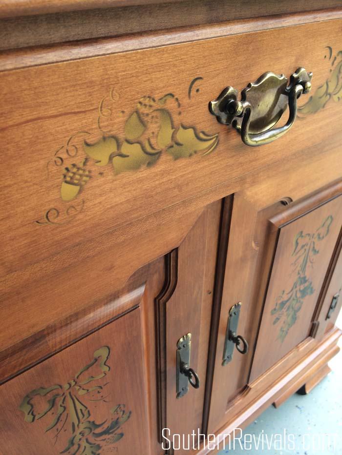 Client Files | Vintage 1970s Sideboard Makeover - Southern Revivals