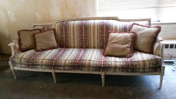 A Brand New Sofa or a New {Old} Sofa?