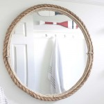 DIY Rope Mirror Tutorial | Nautical Style Bathroom Mirror