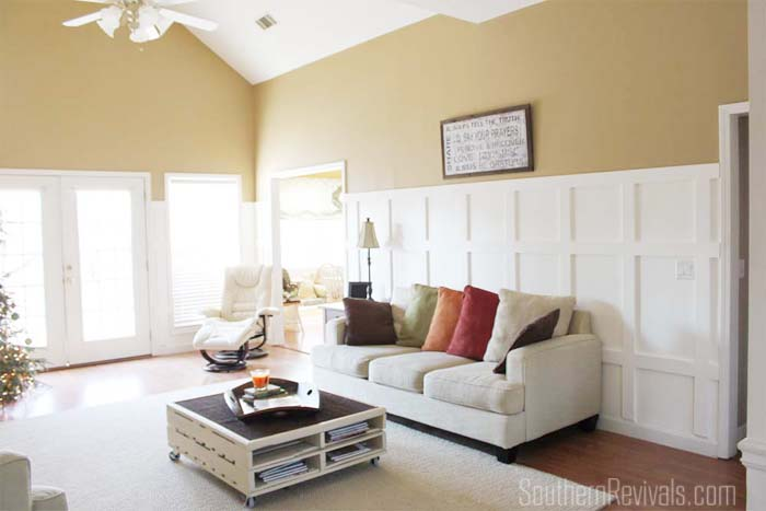 Current State of Affairs   Our Living Room Mid-Makeover #LivingRoomMakeover #makeover #livingroom SouthernRevivals.com