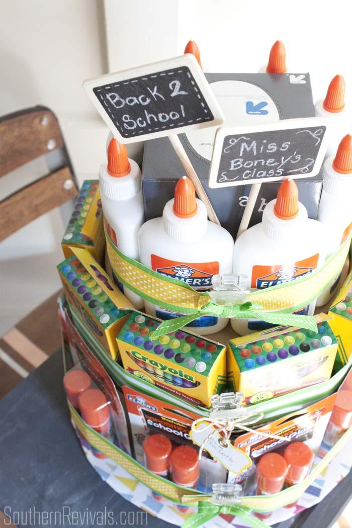 Enough School Supplies School Supplies Cake a
