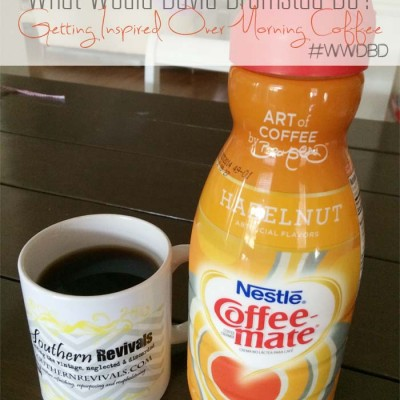 Having Coffee with David Bromstad | Sort of…