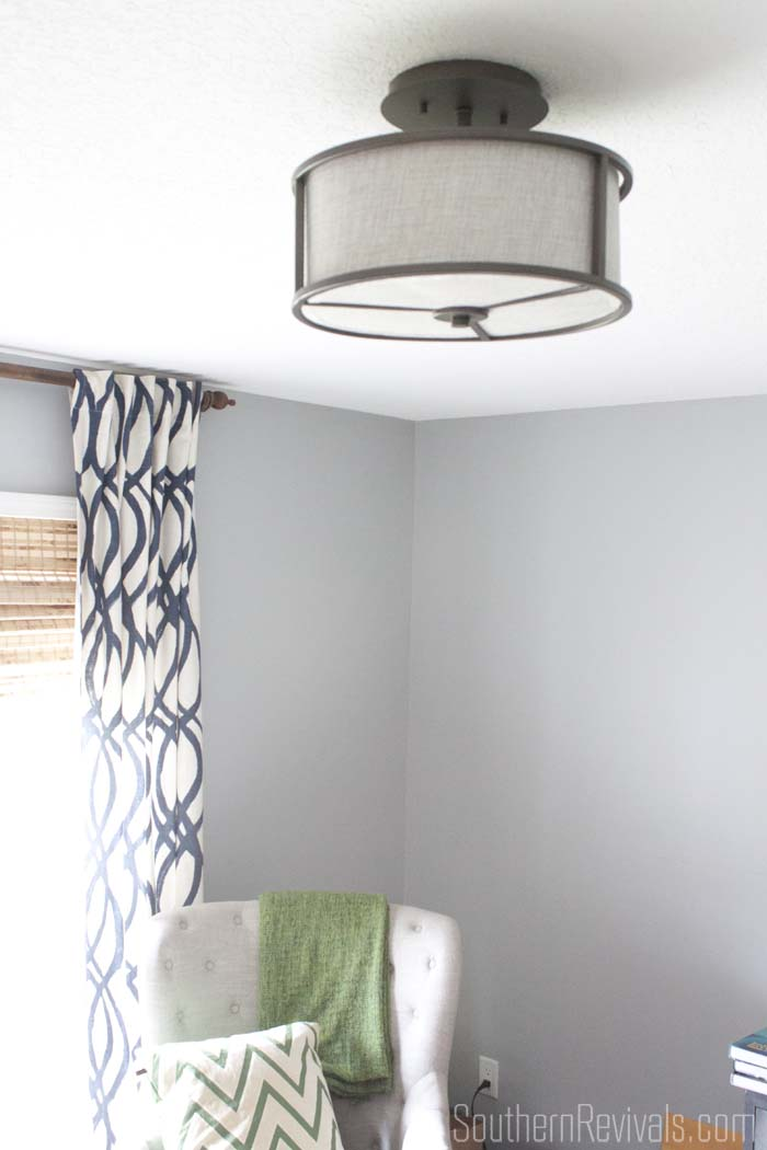 Finding The Perfect Light Fixture For Our Home Office