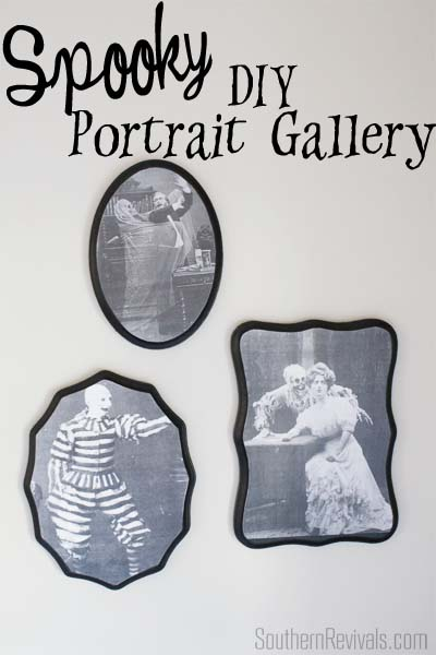 Create Your Own Spooky Halloween Portrait GAllery Wall
