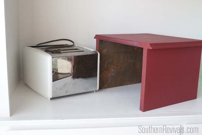 Apothecary Cabinet Toaster Cover 4