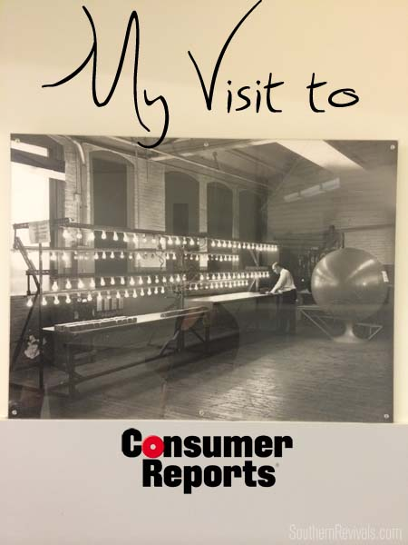 Touring Consumer Reports | My NYC Trip