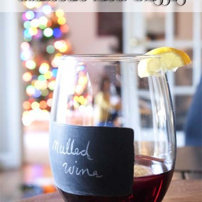 How-to | Pier 1 Knock-off Chalkboard Label Glasses