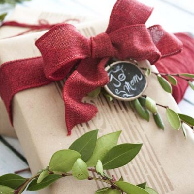 Last Minute DIY Gift Wrap Ideas