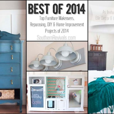 Best of 2014 – Furniture Makeovers, DIYs & Home Improvement Projects