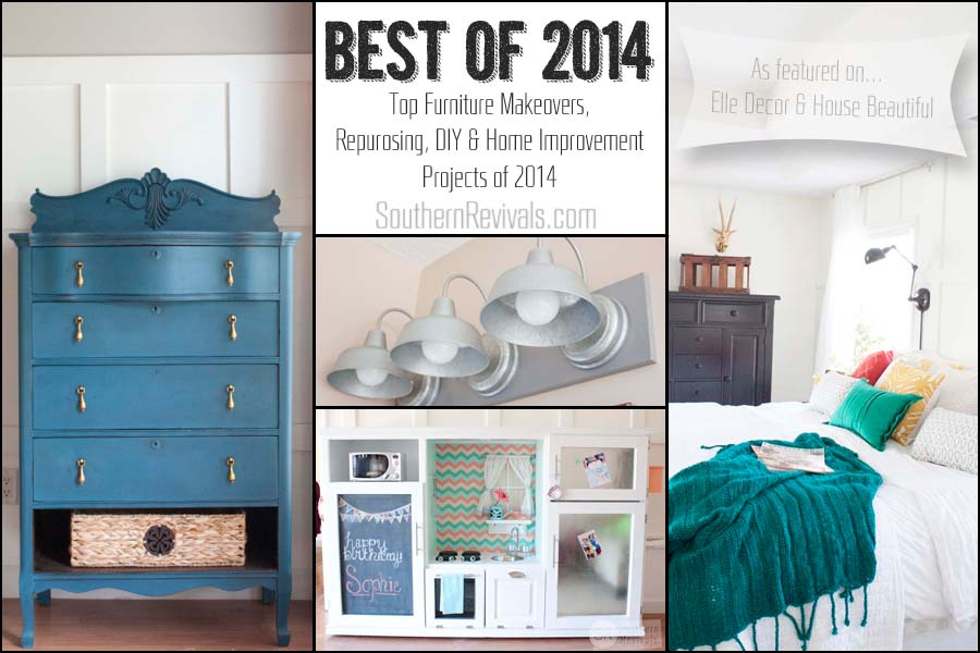 Southern Revivals Best of 2014 - Furniture Makeovers, DIYs, Home Improvement, Crafts