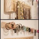 DIY Built-In Jewelry Organizer