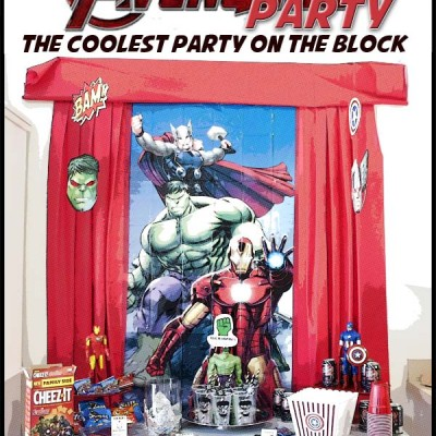 Host An Amazing Avengers Party   FREE Printables, Recipes & More
